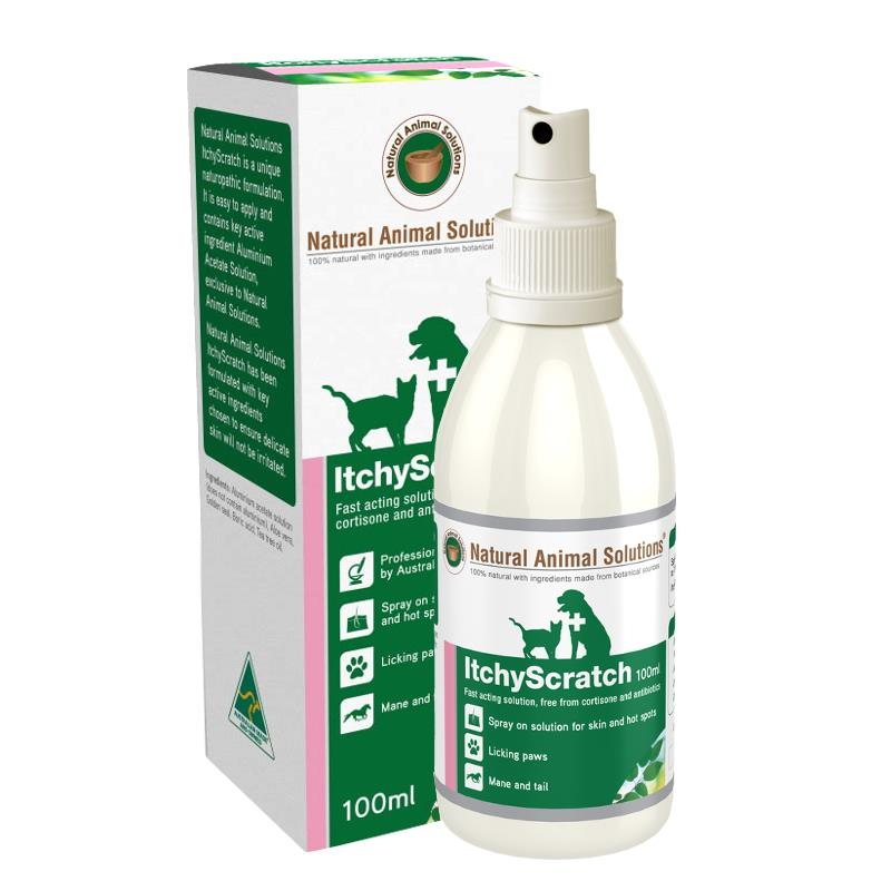 Natural Animal Solutions Itchyscratch Spray 100ml Petbucket