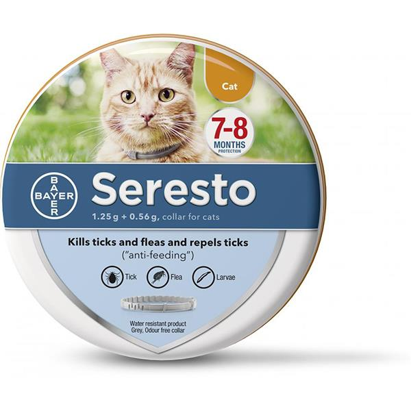 Seresto Flea and Tick Collar for Cats Review  Upgrade