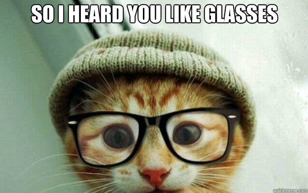 10 Cats Who Think They Are Smarter In Glasses