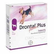 Drontal Plus Round and Tapewormer - 1 Dose (10kg)