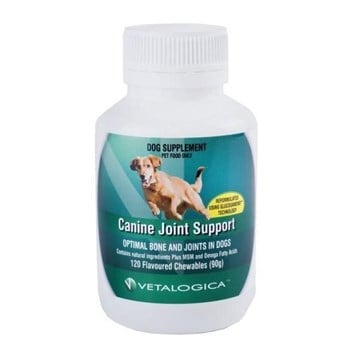Vetalogica Canine Joint Support 120 Chew