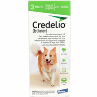Credelio Green Large Dogs 25.1-50 lbs (11-22 kg) 3 Pack