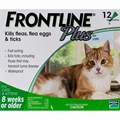 Frontline Plus for Cats 8 Week or Older - 12 Pipettes Wholesale Product