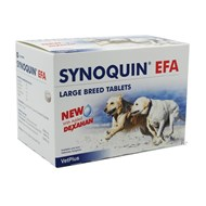Synoquin EFA Tablets for Large Dogs Over 50 lbs (25 kg) - 120 Pack