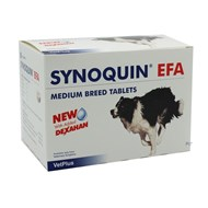 Synoquin EFA Tablets for Medium Dogs 20-50 lbs (10-25 kg) - 120 Pack