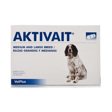VetPlus Aktivait for Medium & Large Dogs - 60 Capsules