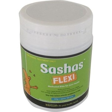 Sashas Flexi Bites 200gm